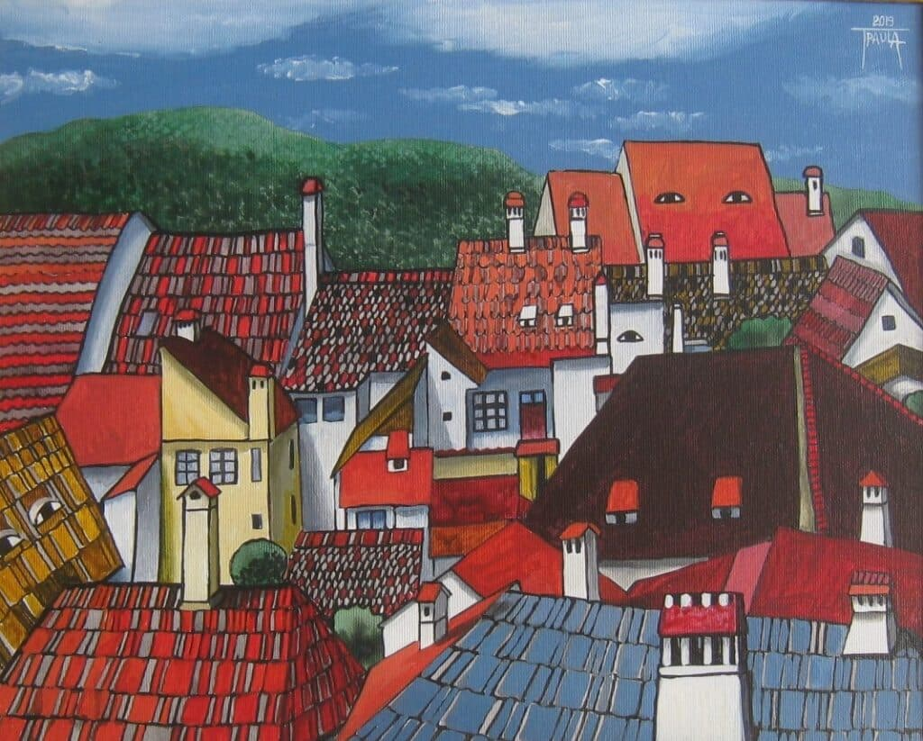 Sighisoara-casele care te privesc Galerie, Pictura