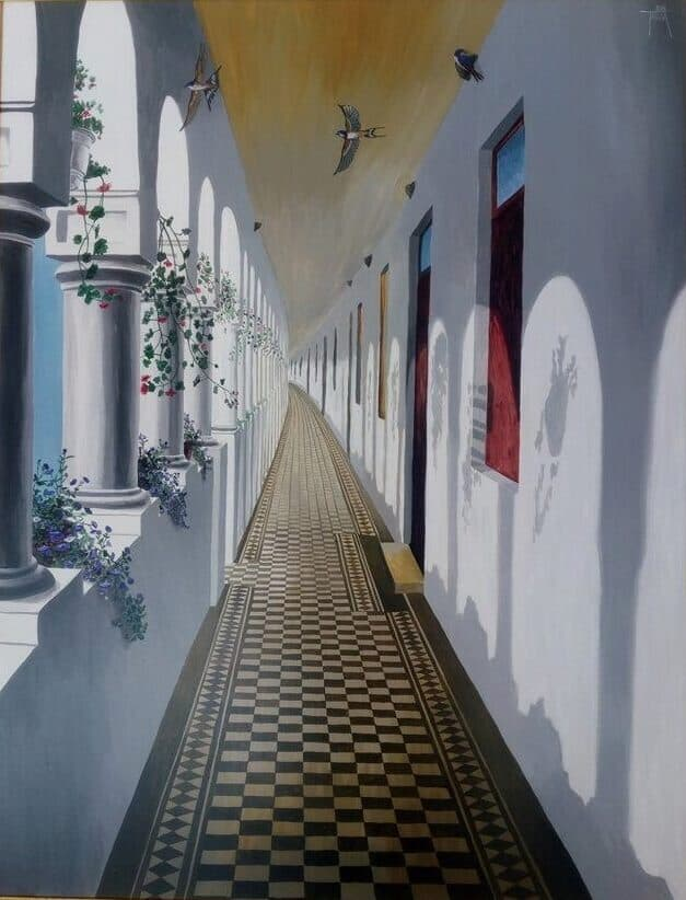 Rugaciune pentru cei plecati Galerie, Pictura