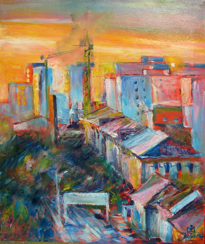 City Galerie, Homepage, Pictura
