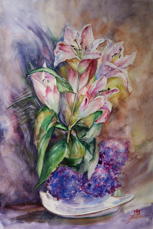 Lilies Acuarela, Galerie, Homepage