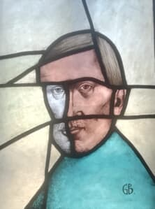 Oglinda spartă Sticla | Vitralii