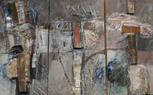 Materia Convulsiva, diptic Galerie, Homepage, Pictura