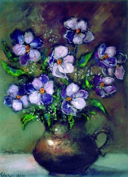 Albastrele Galerie, Pictura