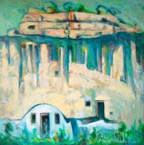 Corbii de piatră Galerie, Homepage, Pictura