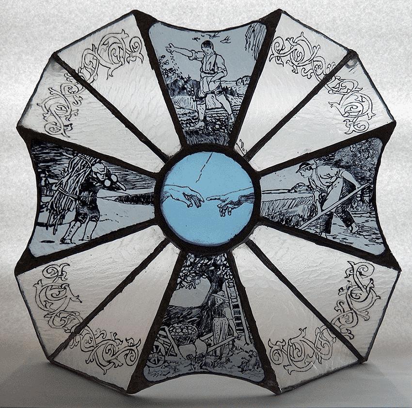 Crucea Anotimpurilor Galerie, Sticla   Vitralii