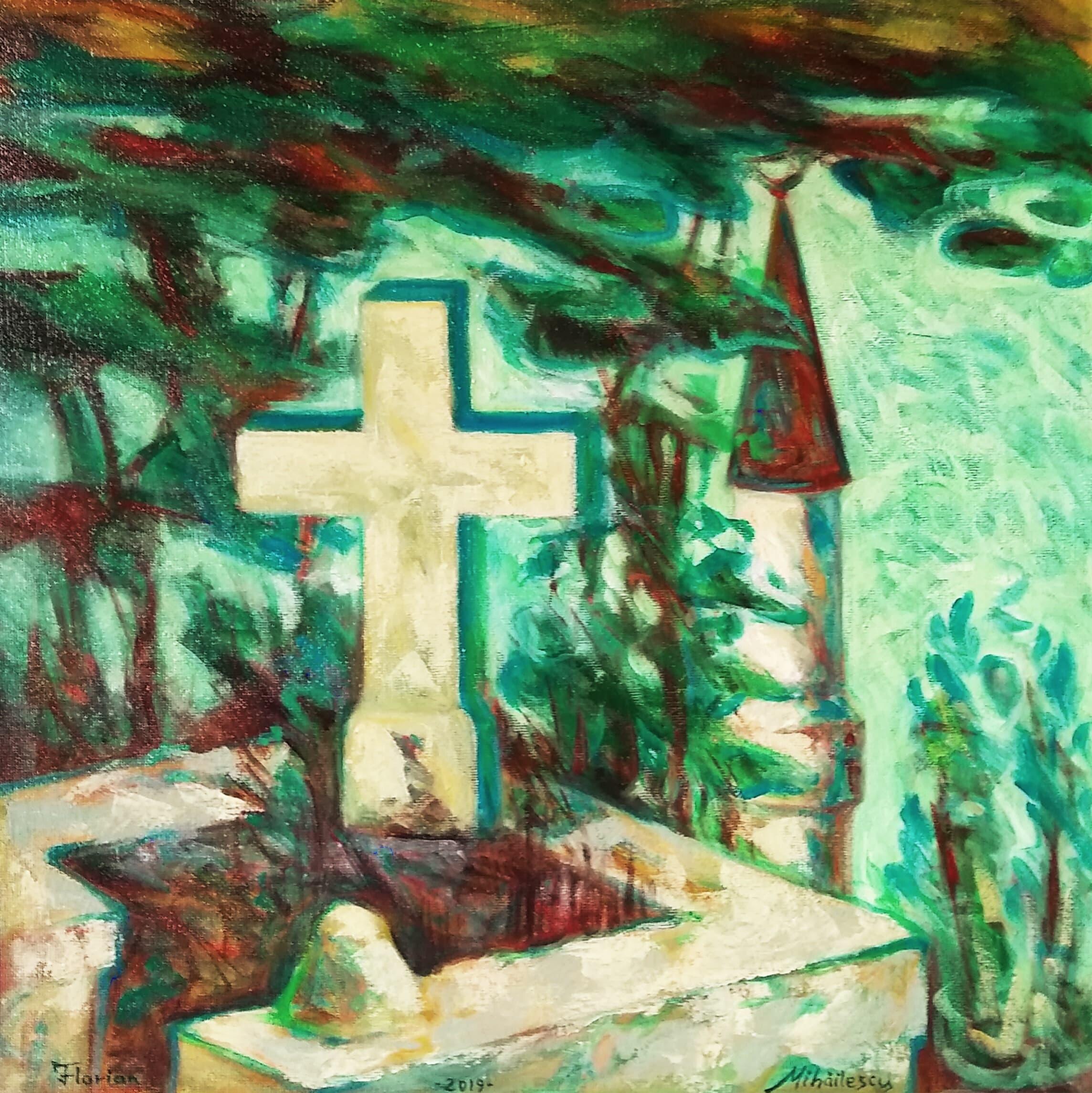 Dialog pe înserat Galerie, Pictura