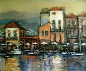 Peisaj din Grecia Galerie, Homepage, Pictura