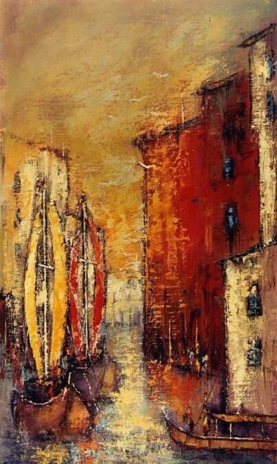 Peisaj venetian Galerie, Homepage, Pictura