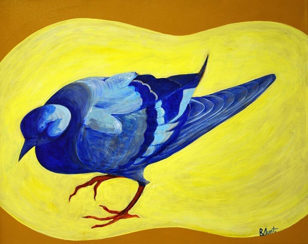 Prințișor albastru Galerie, Pictura