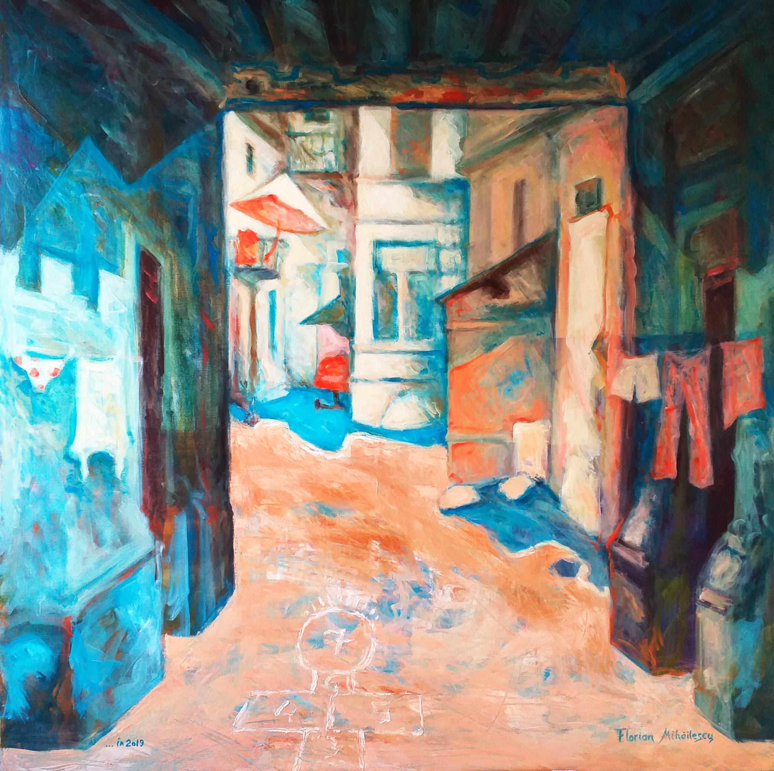 Vedere din mahala... în 2019 Galerie, Homepage, Pictura