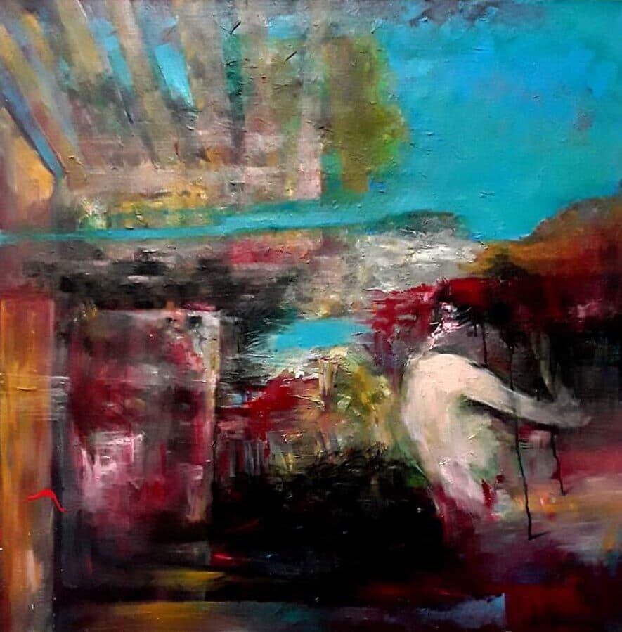 În afara materiei Galerie, Pictura