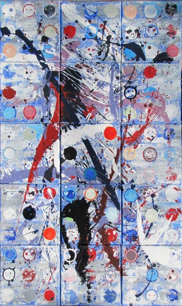 Plin de marțieni Galerie, Pictura