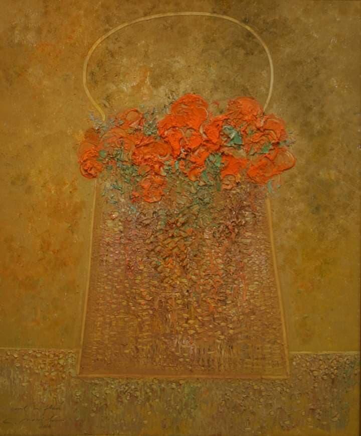 Coşul cu flori Galerie, Pictura