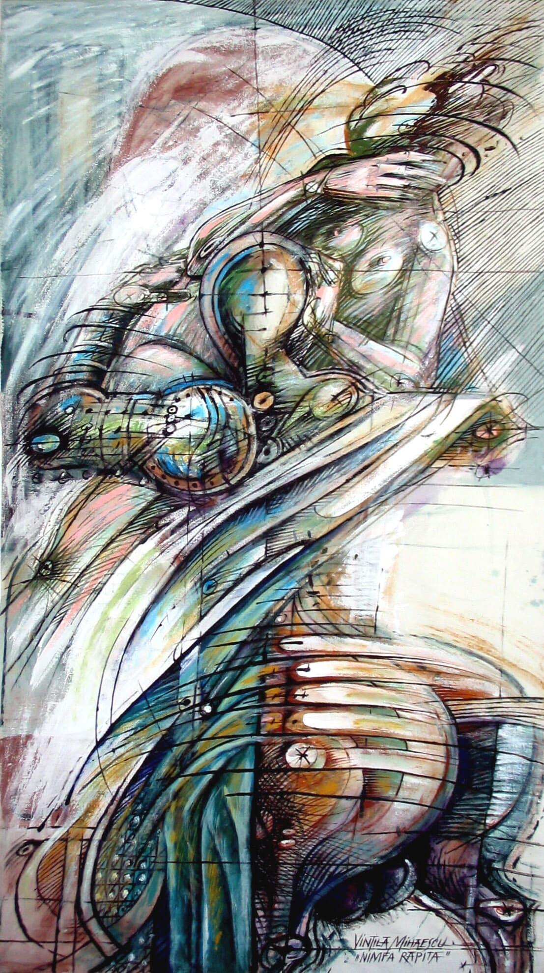 Nimfa răpită Galerie, Pictura