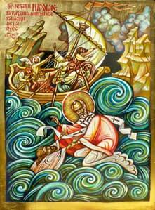 Sf. Ierarh Nicolae Icoane