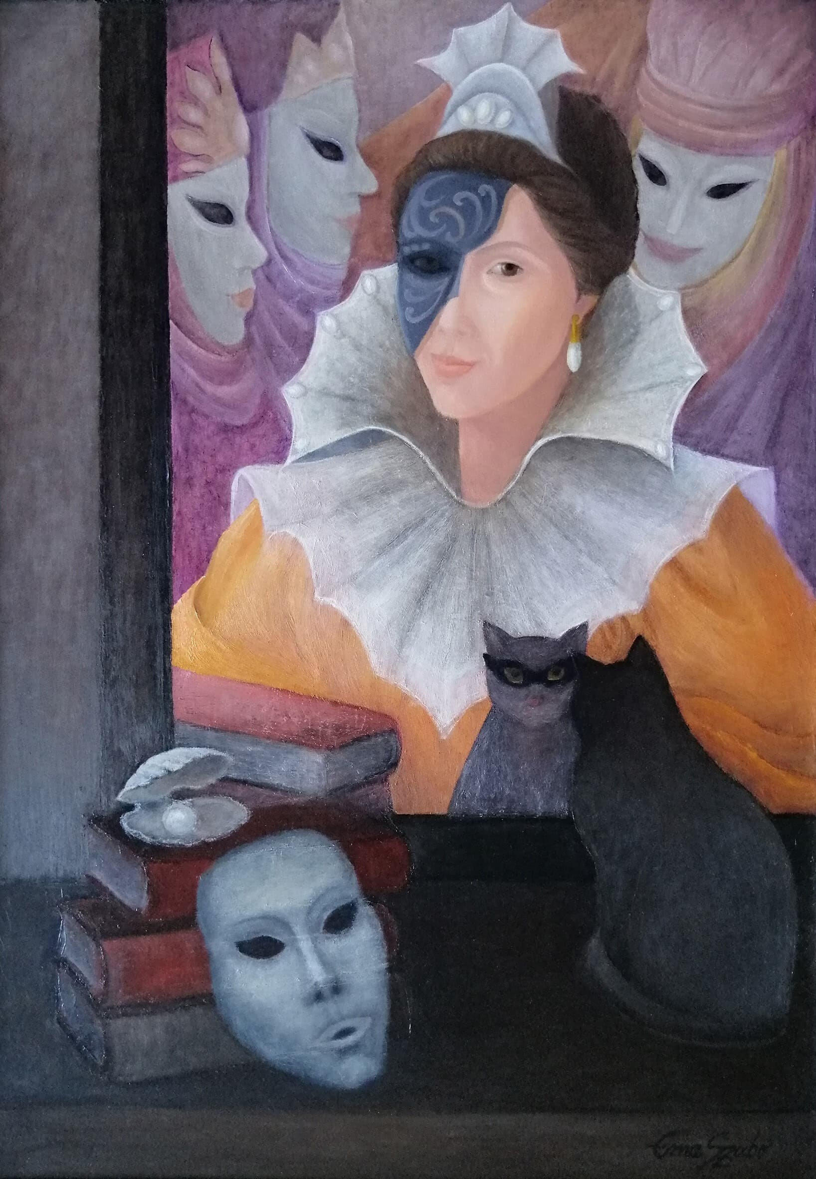 """Carnaval venetian"" Galerie, Pictura"