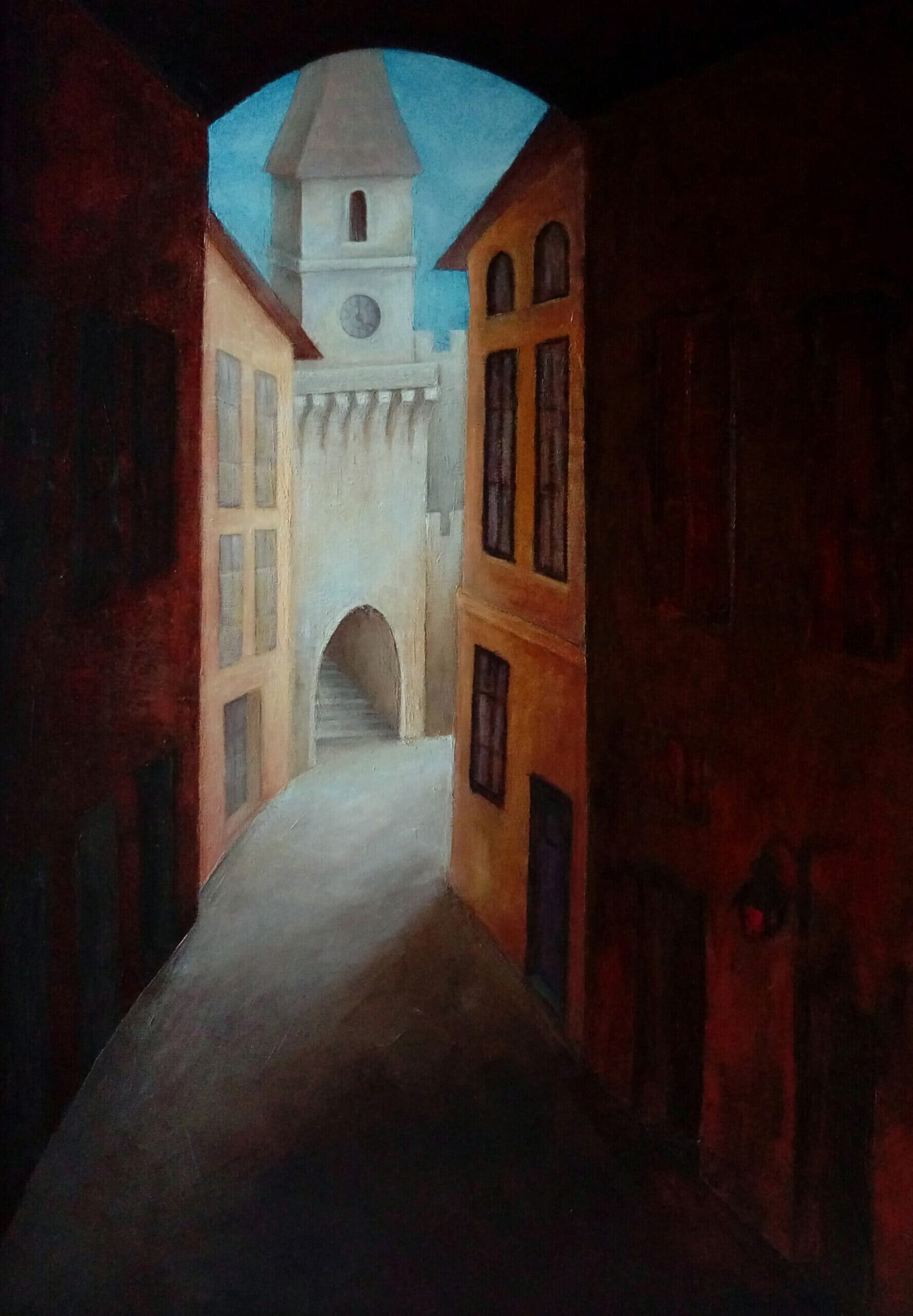 """""""Medieval Afternoon"""" Galerie, Pictura"""